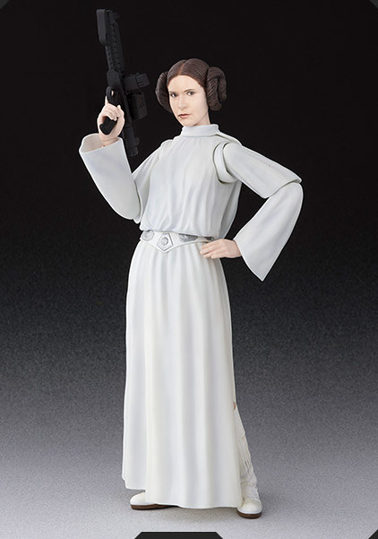 S.H.Figuarts 《星際大戰四部曲:曙光乍現》「莉亞·歐嘉納公主」!プリンセス・レイア・オーガナ(STAR WARS:A New Hope)
