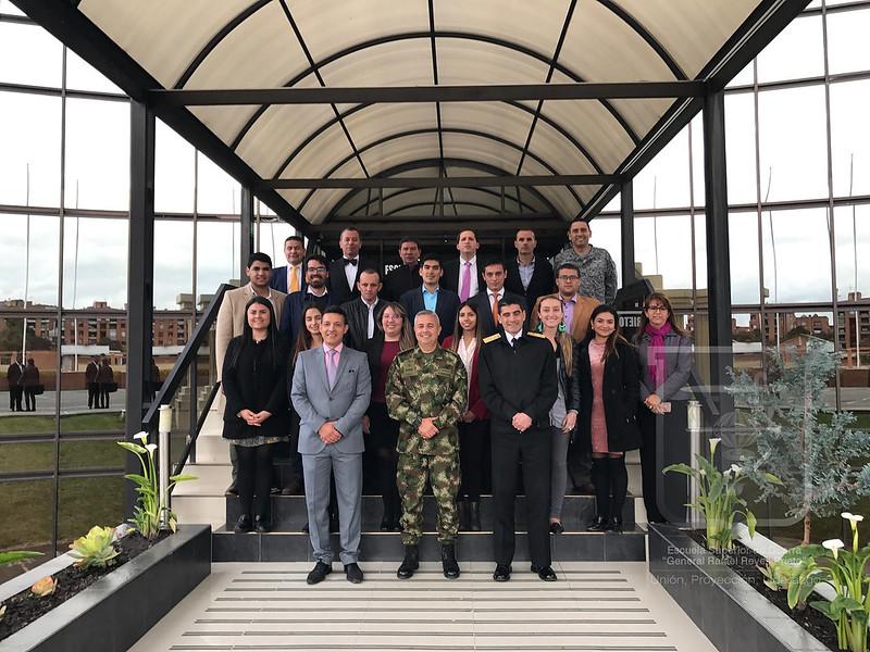 Cohorte número XXXIII de la Maestría en Seguridad y Defensa Nacionales.