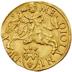 Louis XII reverse