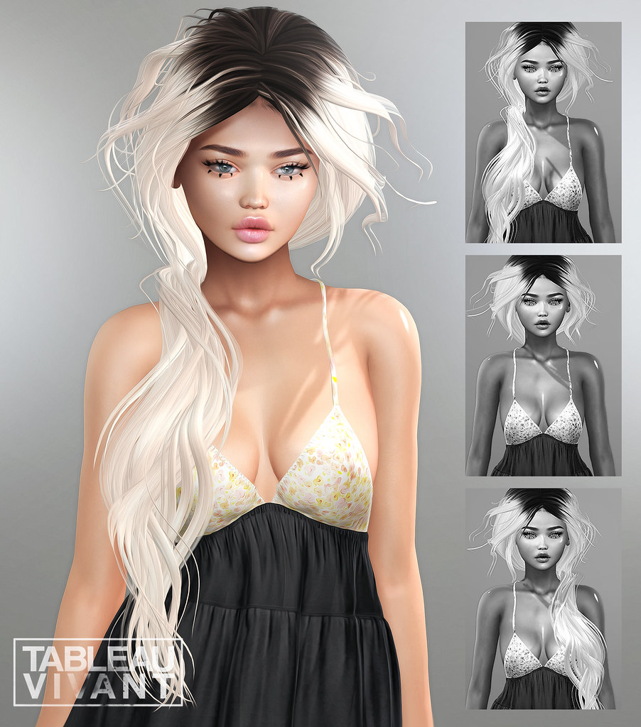 Tableau Vivant - New Hair for Collabor88 - TeleportHub.com Live!