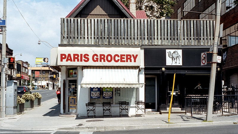 Camel and Paris Grocery