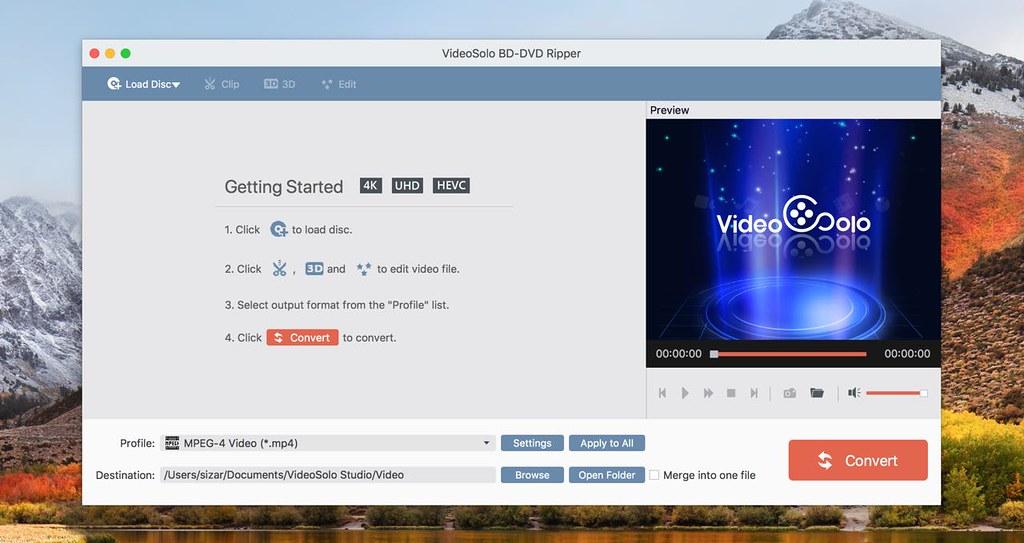 VideoSolo BD-DVD Ripper 1 0 6 – Rip Blu-ray Disc/Folder/ISO