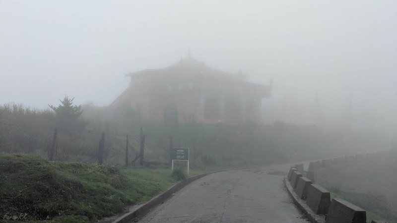 Meghma monastery in the mist