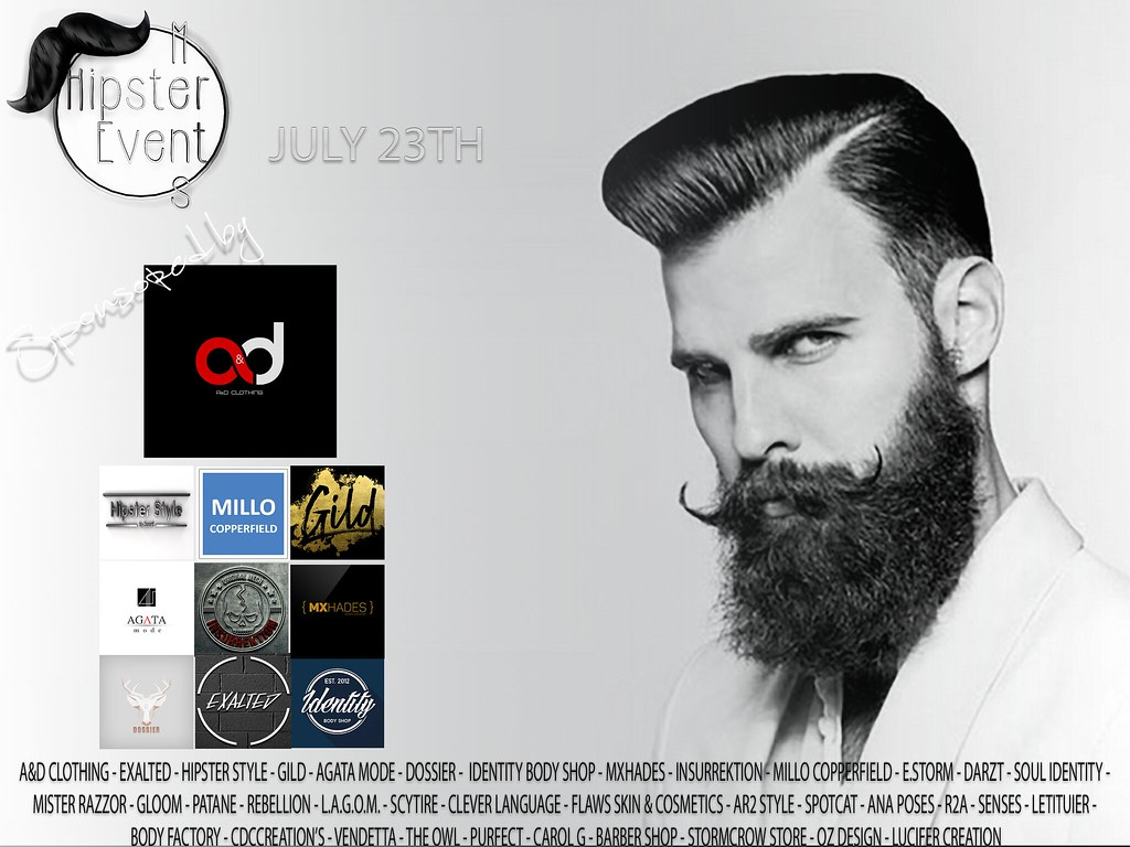 Hipster Men Event JULY ROUND