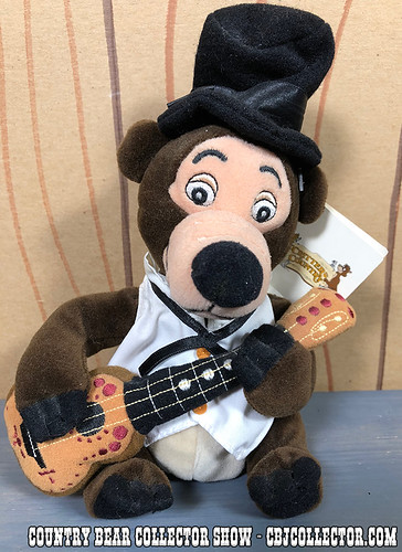 1990s Disneyland Critter Country Henry Mini Bean Bag - Country Bear Collector Show #162