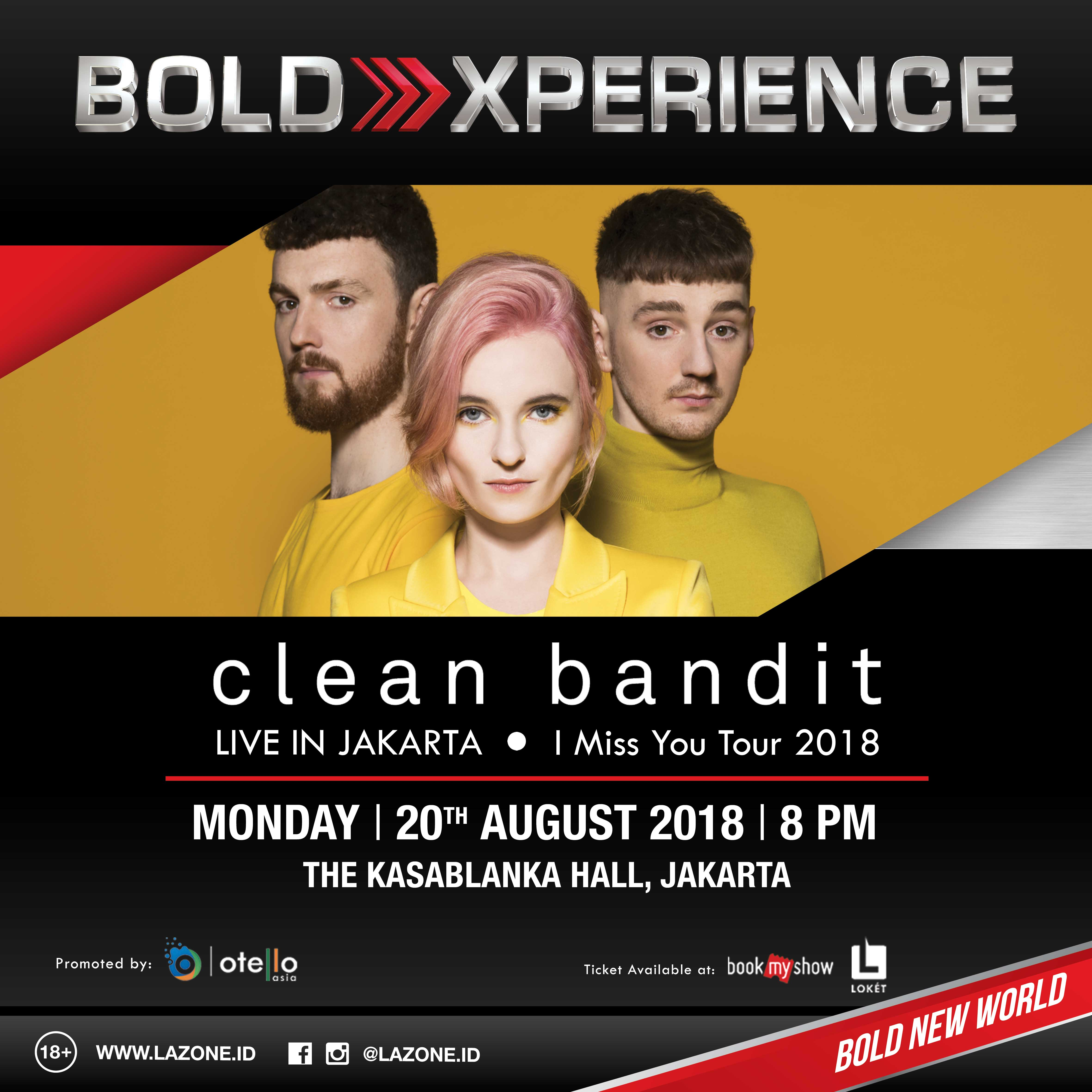 Clean Bandit - Poster New Square