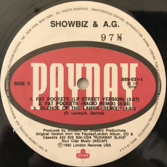 SHOWBIZ & A.G.:FAT POCKETS(LABEL SIDE-B)