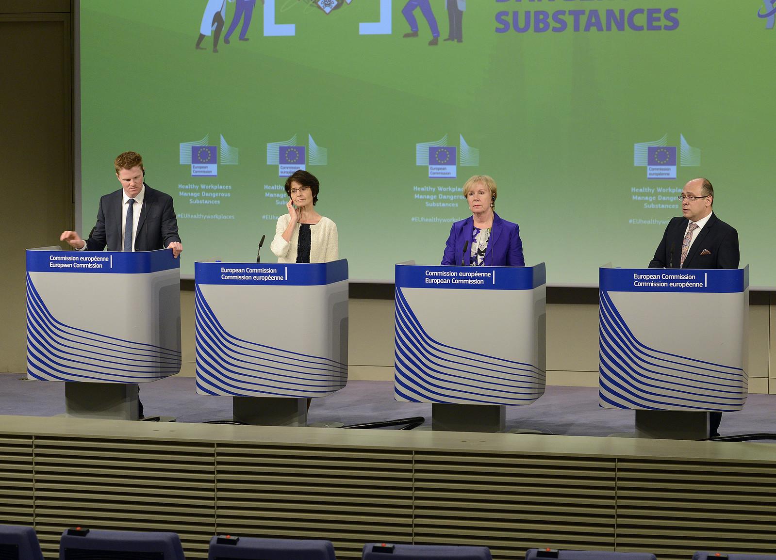 24/04/2018 - 12:28 - Christian Wigand, Marianne Thyssen, Christa Sedlatschek, Lazar Lazarov