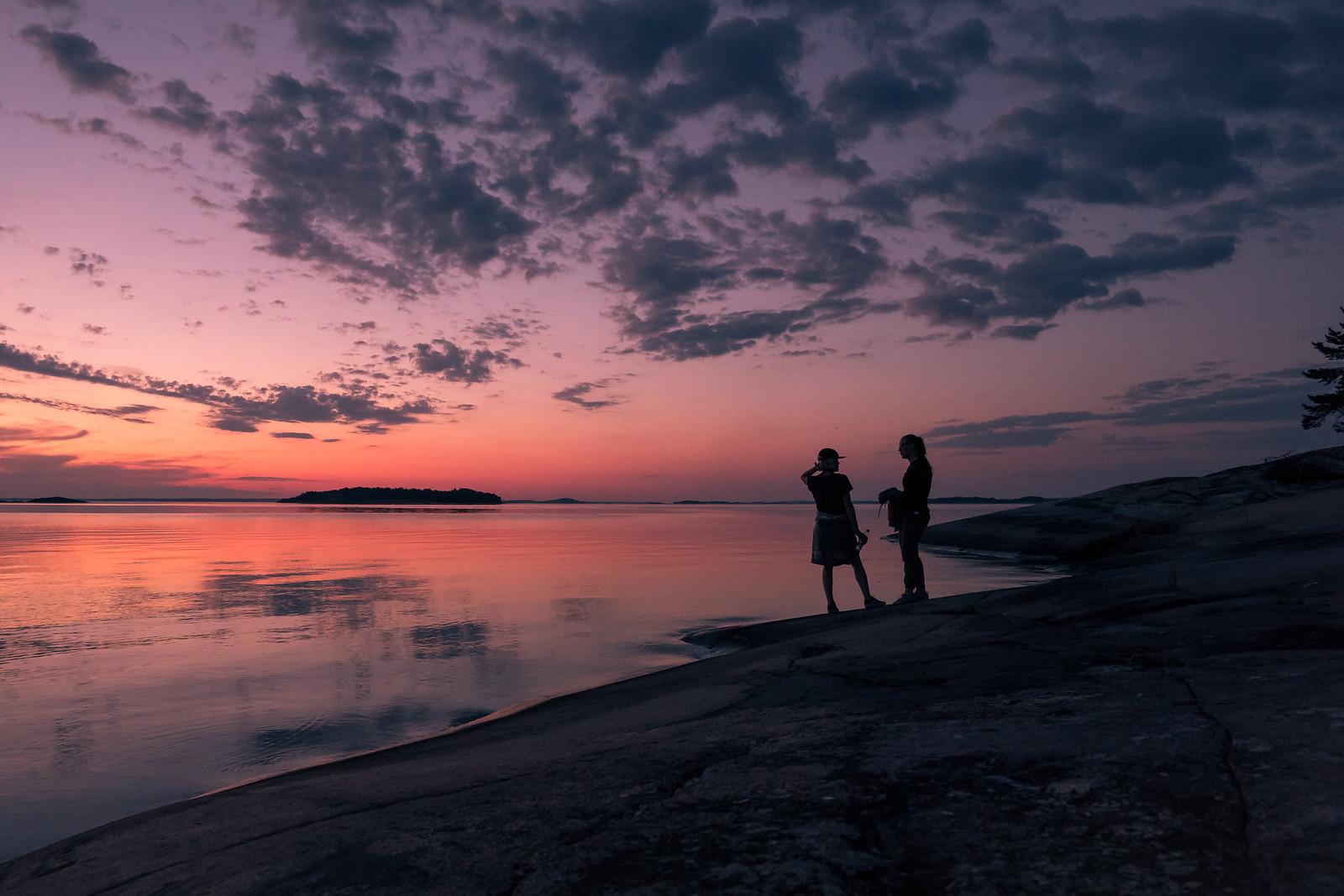 Helsingholmen rantakallioilta