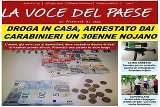Noicattaro. Prima pagina n. 29-2018 front