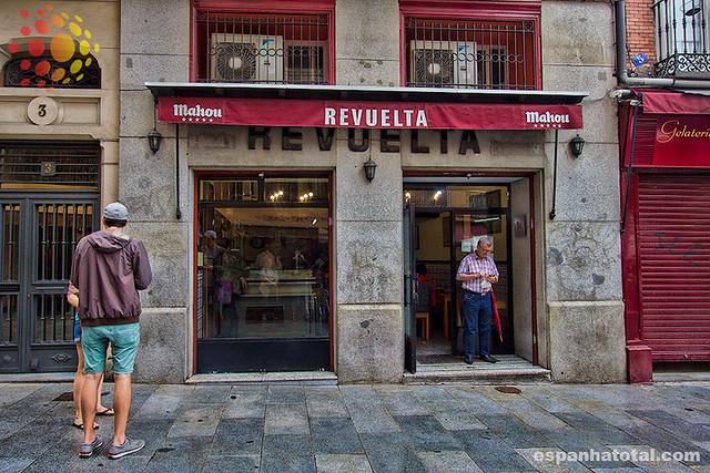 melhores bares de Madri: Casa Revuelta