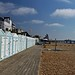 Eastbourne beach huts by Andrew Boxall