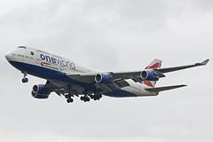 British Airways Boeing 747-436 G-CIVL