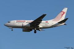 Boeing 737 -6H3 TUNISAIR TS-IOL 29497 Francfort mai 2018