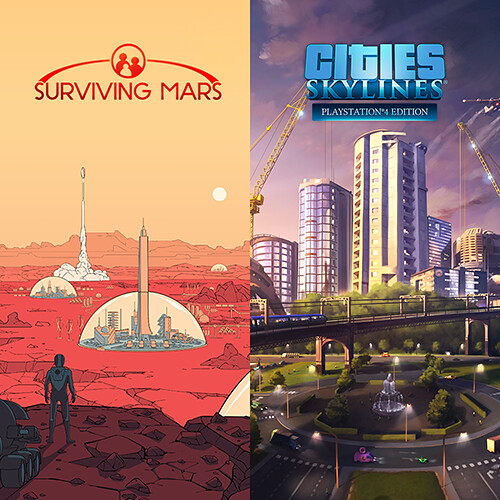 Cities: Skylines + Surviving Mars