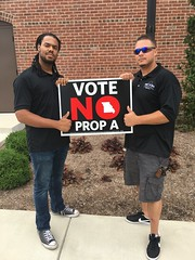 Vote No On Prop A on August 7th