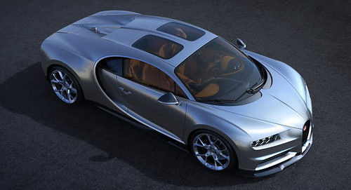 Bugatti Chiron's New Glass Roof Option Is One Expensive Way To Look At The Sky Above