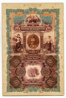Lot 655. Bradbury Wilkinson & Company, Ltd. 1912 Adv Poster.