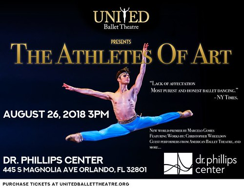 "United Ballet Theatre (UBT) presents ""The Athletes of Art"""