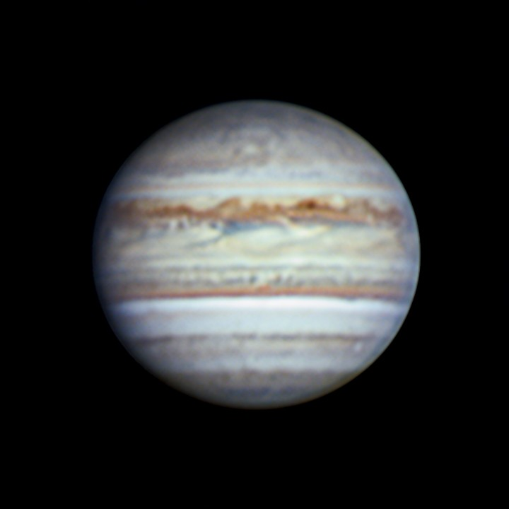 木星 (2018/7/29 19:52-20:07) (1500/3000 x6 de-rotation (19:59) manual LRGB)