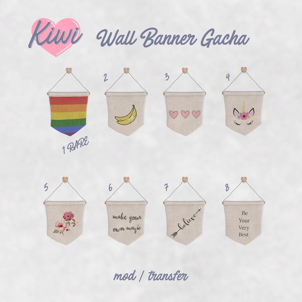 kiwi / Wall Banner Gacha - TeleportHub.com Live!