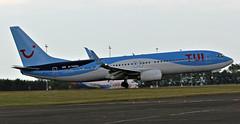 G-TAWU TUI BOEING 737 NEWCASTLE