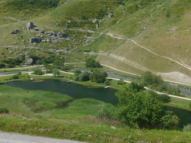 14/07/2018 au 28 Val Thorens – 24/07/2018  Les Menuires - Navette vers Saint Martin de Belleville - Télécabine de Tougnète 2411 m puis descente vers Les Menuires 1850 m(15 kms)
