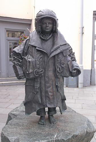 RNLI statue