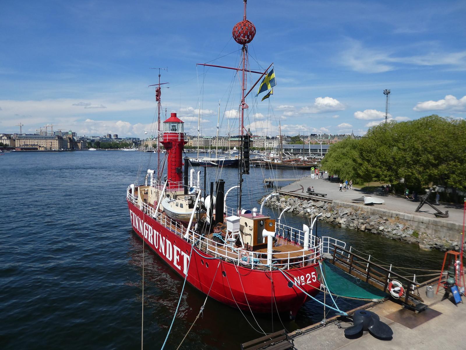 Finngrundet Lightship, Stockholm