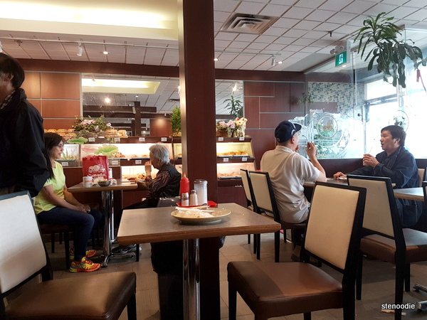 Hai Tang Bakery & Cafe interior