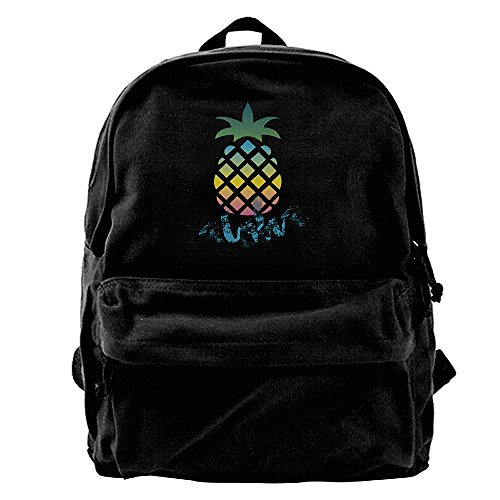 Aloha Pineapple Packable Lightweight Travel Hiking Backpack Daypack For Picnics, Camping, Hiking