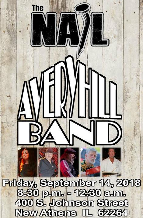 Avery Hill 9-14-18