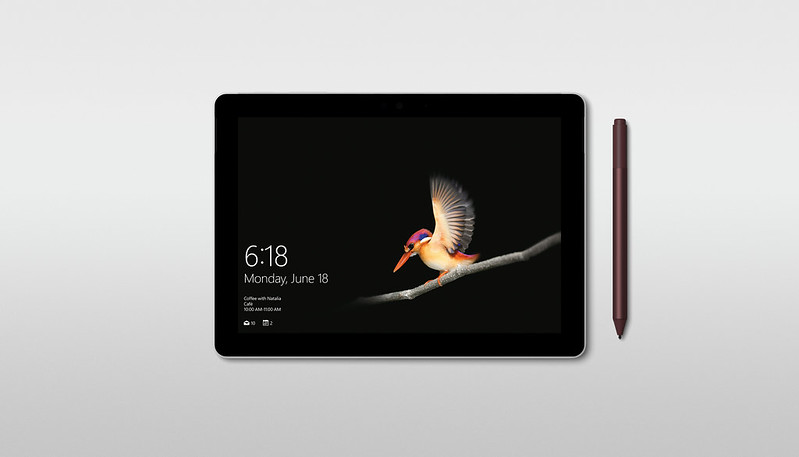 Surface Go - Tablet Mode with Surface Pen (Sold Separately)
