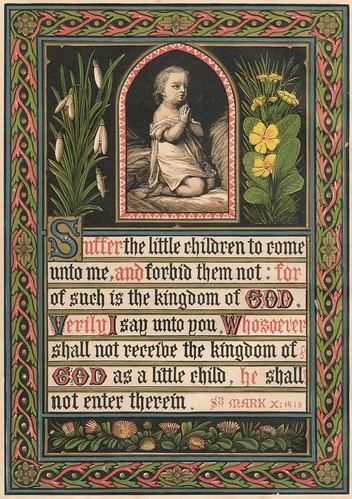 1872 Mark 10:14-15