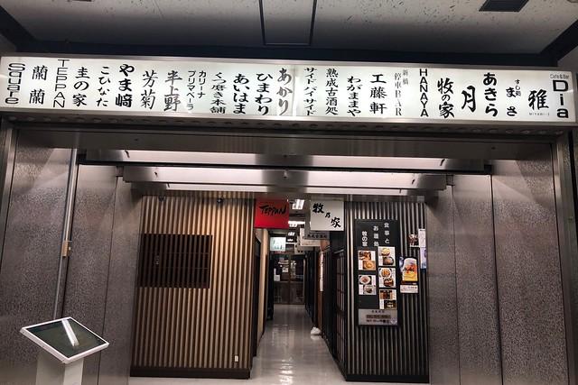 東京一人旅(2)〜新橋・銀座をハシゴ