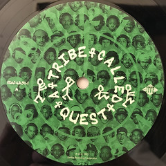 A TRIBE CALLED QUEST:MIDNIGHT MARAUDERS(LABEL SIDE-A)