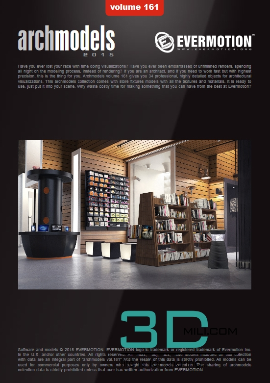 Evermotion Archmodels Vol 161: Store Fixtures - 3D Mili