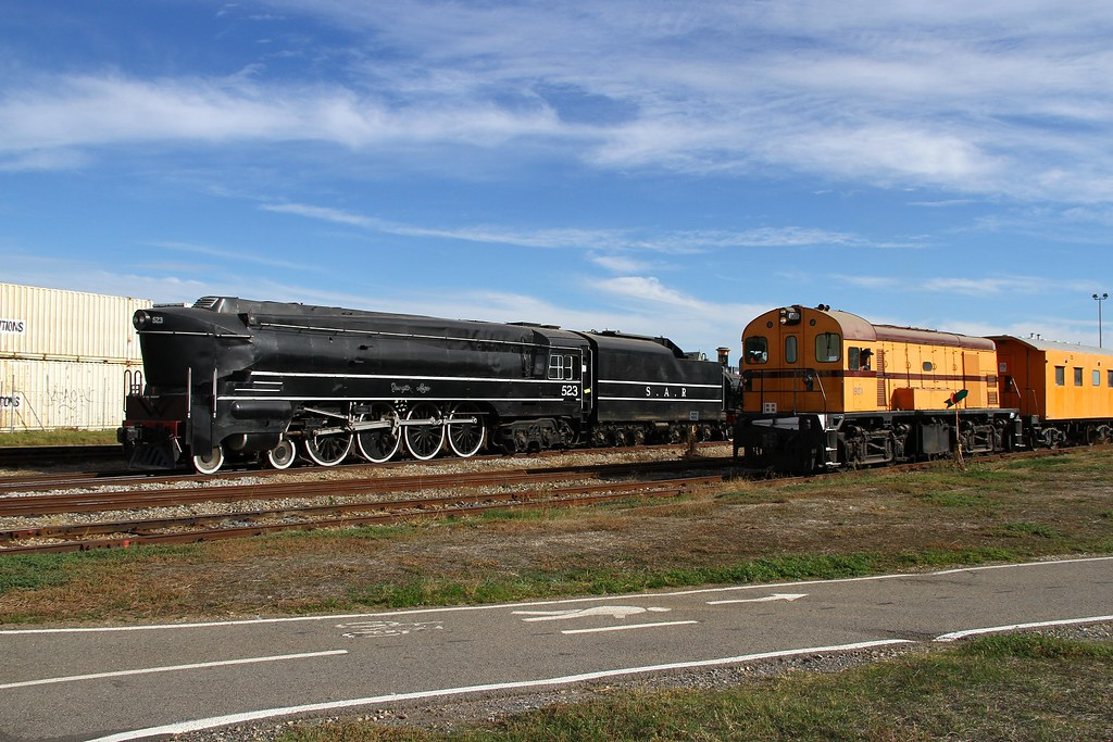 South Australian Railways at Port Adelaide 2018 style by David Arnold