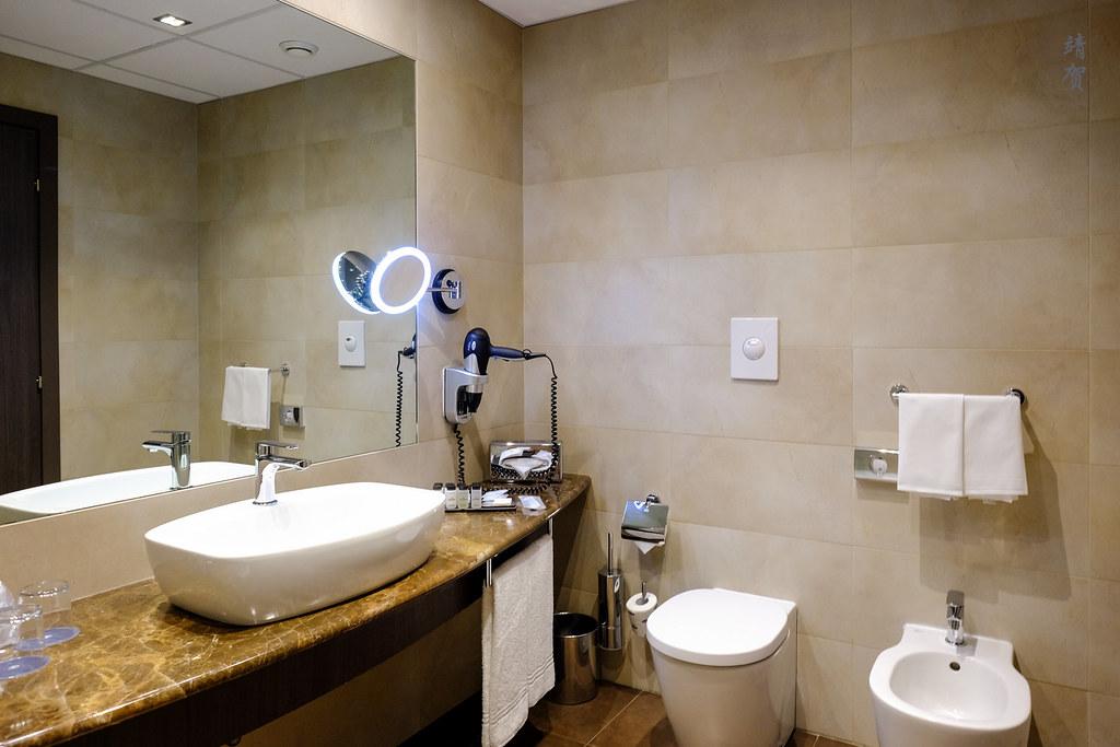 Bathroom with bidet