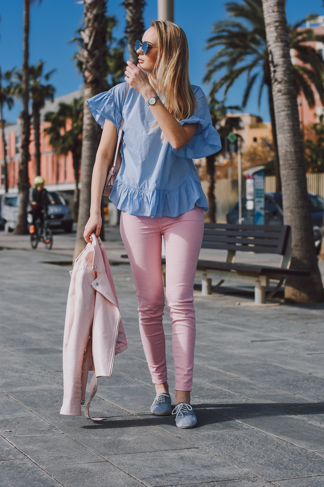 Pastel color outfit inspiration