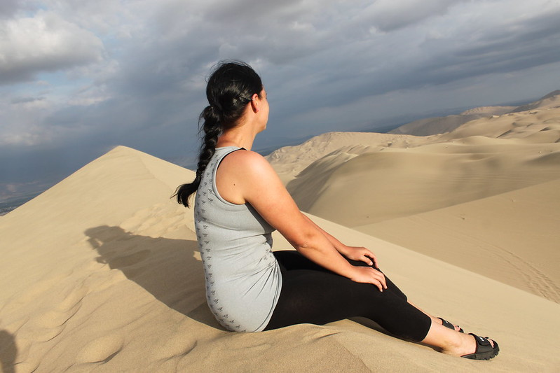 Sandboarding Peru