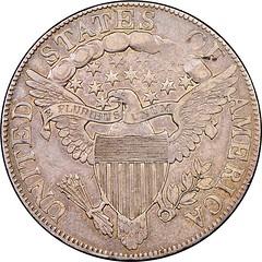 1806 Half Dollar O-108 Reverse