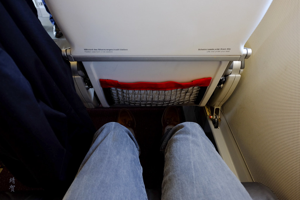 Legroom on the seat