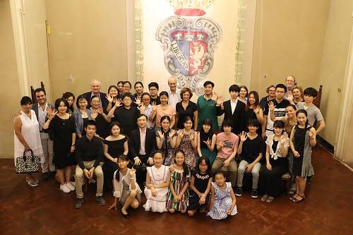 Imola Summer Piano 2018: la sindaca Sangiorgi incontra i partecipanti