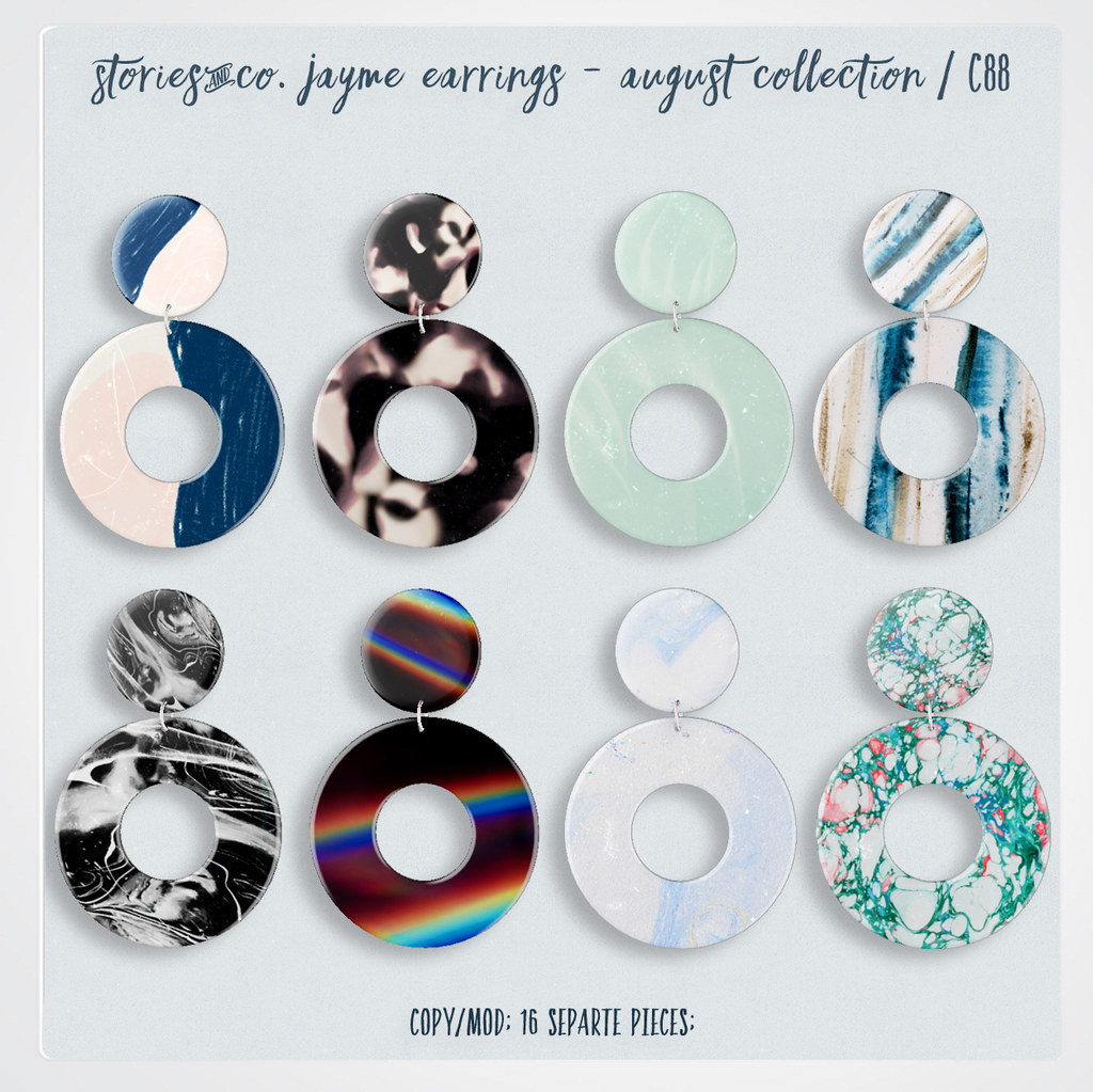 Stories&Co. Jayme Earrings – August Collection / C88