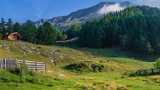 Blick von der St. Martin-Alpe zur Vermoispitze