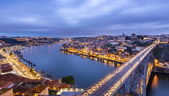 Blue Hour in Porto/Portugal