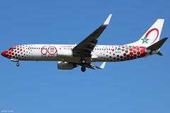 Boeing 737-800 Royal Air Maroc (60 Years Livery) CN-RGV