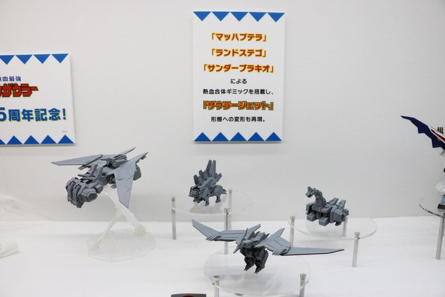 【WF2018夏】BANDAI SPIRITS 多款新作原型情報公開!