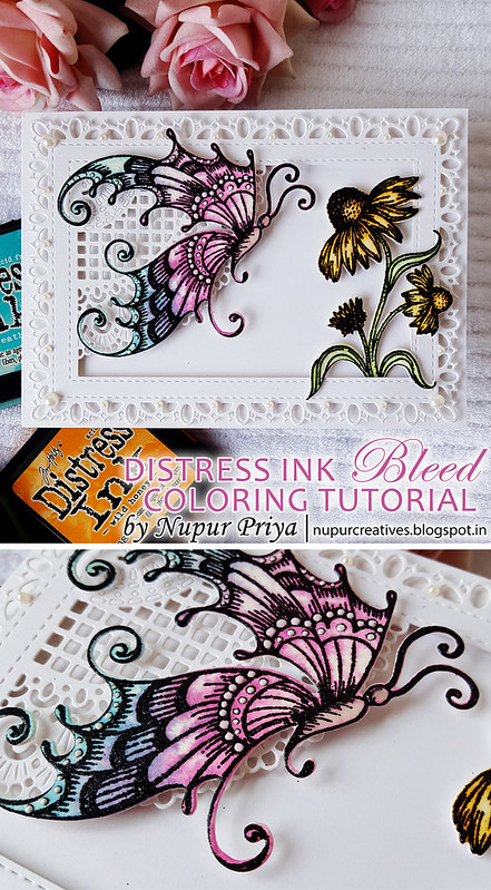 Distress Ink Bleed Coloring_pinterest
